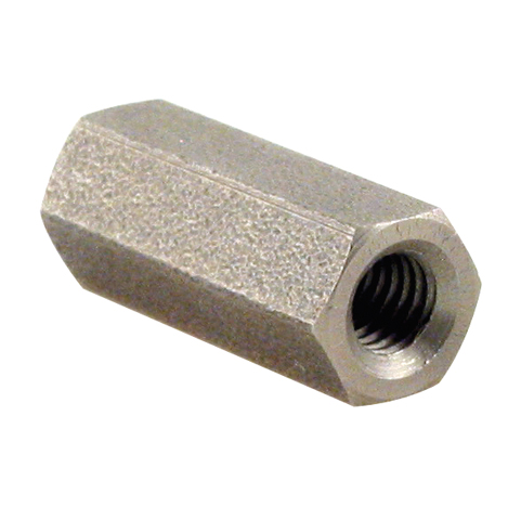 Threaded sleeves - Hexagonal - stainless steel -  -