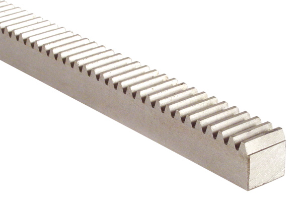 Rack, square section - Stainless steel - 999mm -