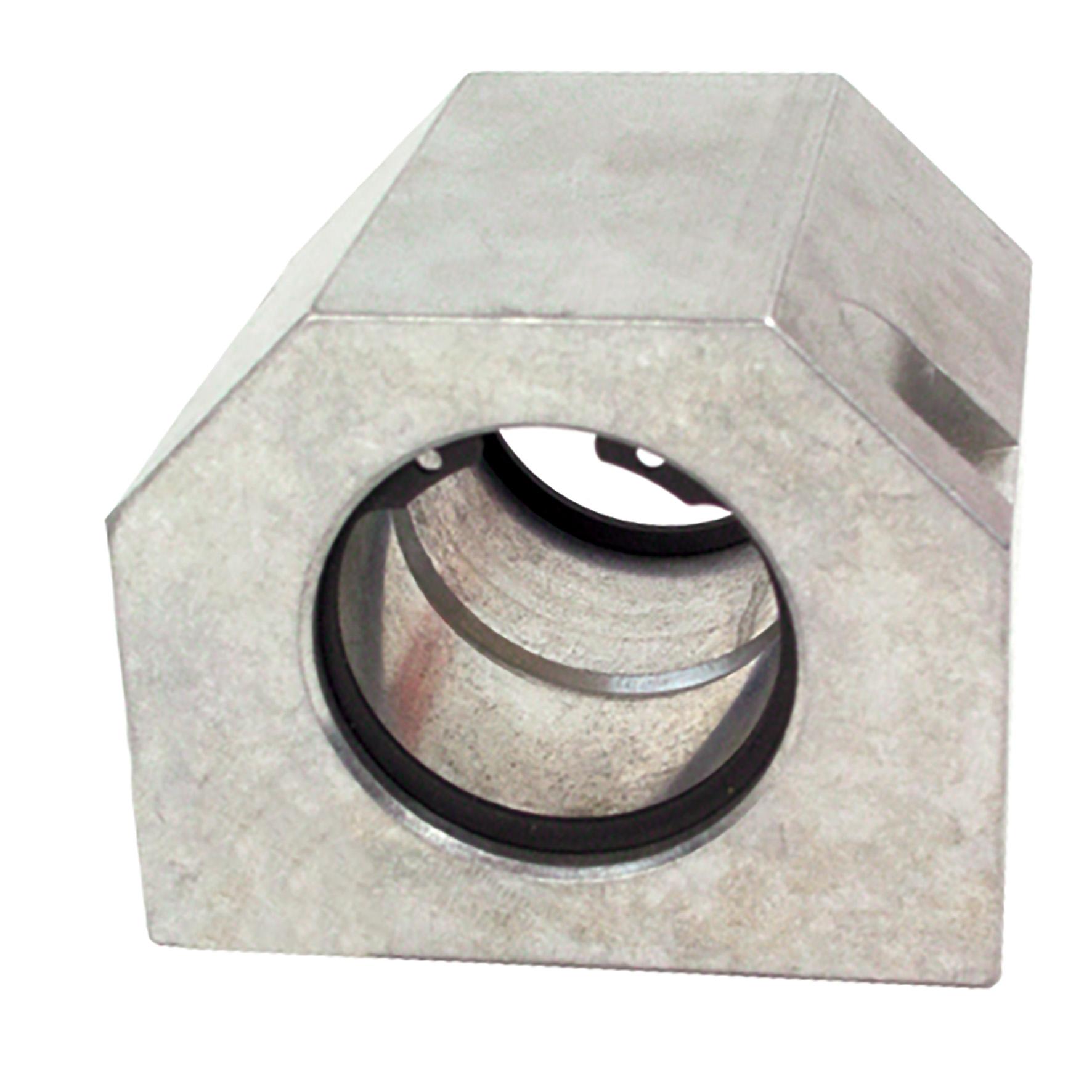 Palier pour douille à billes - Fermé long - Aluminium -