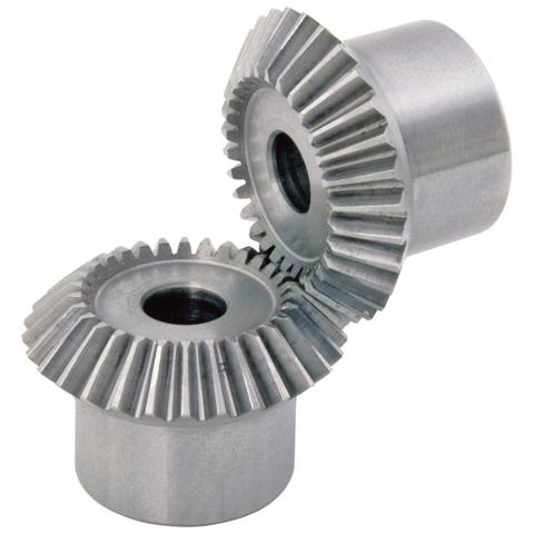 Engrenage conique de précision - 1:1 - Acier prétraité - Grade 7f24 DIN 3985