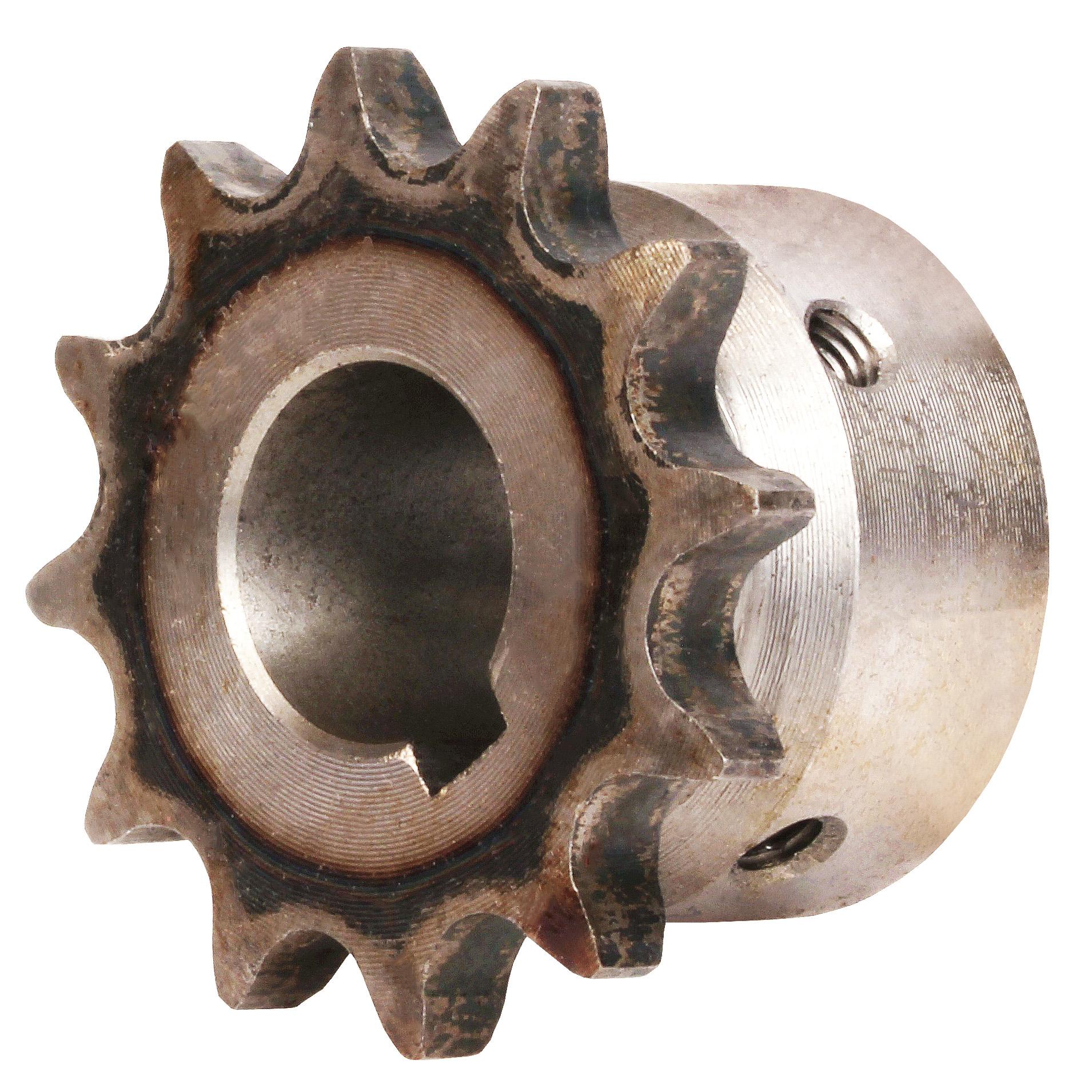 Pignon à chaîne à denture trempée - 9,525mm (DIN06B-1) - 6,35mm -