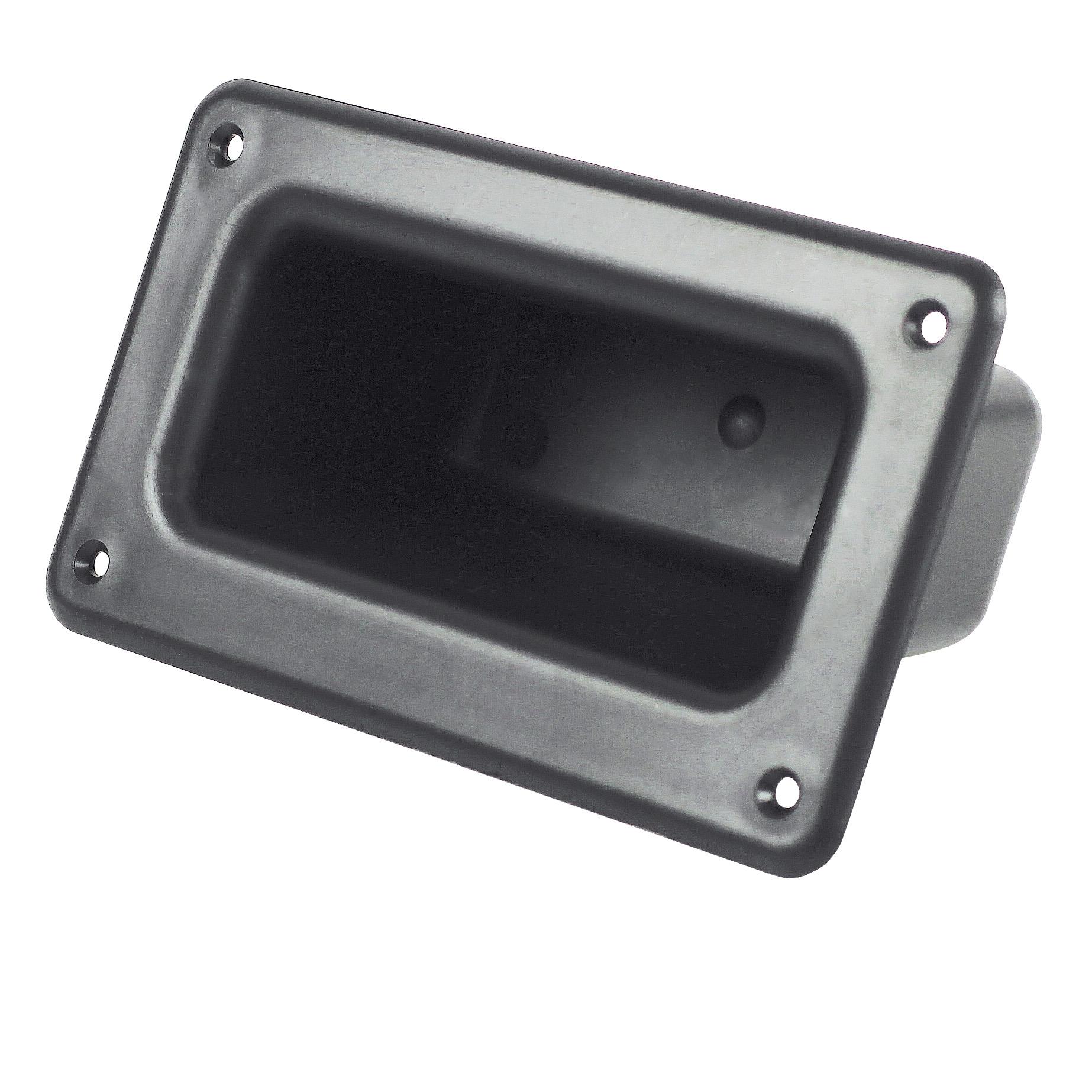 Recessed handle - screw fixing - Thermoplastic -