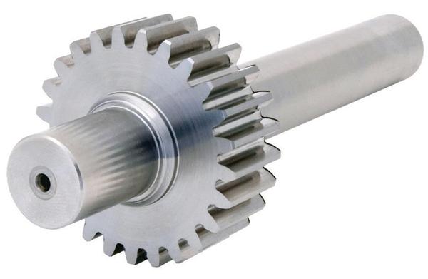 Pignon arbré de précision - Inox - 2 - grade 7e25 DIN 3961