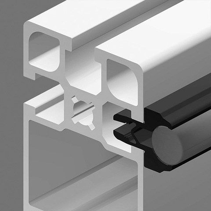 Roller for aluminium profile - Shaft support -  -