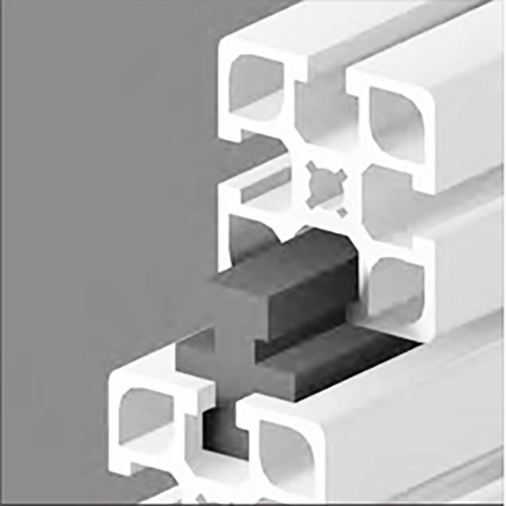 Guide for aluminium profile - Parallel rails -  -