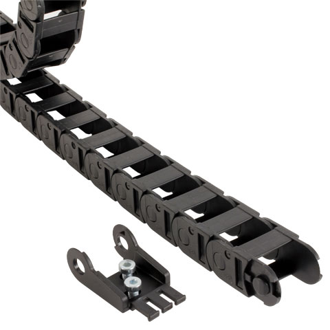 Chute profile - Cable-carrier chain -  -