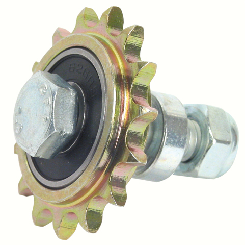 Idler chain sprocket - For standard applications - Single - Bichromate steel