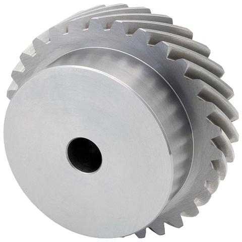 Ingranaggio elicoidale ad assi incrociati - Acciaio 20NCD2 cementato temprato - 1,5 - Grado 7e25 DIN 3961