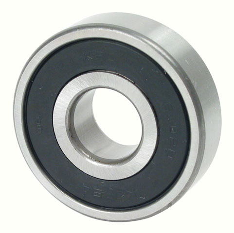 Ball bearing - Steel - With rubber shields -