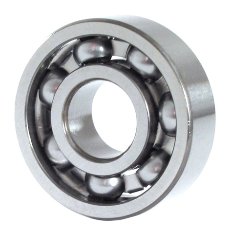 Ball bearing - Steel - Opened -