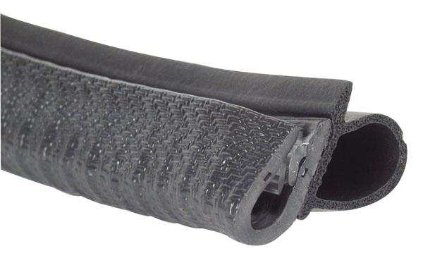 Joint d'étanchéité - A clipser - Avec garniture laterale -