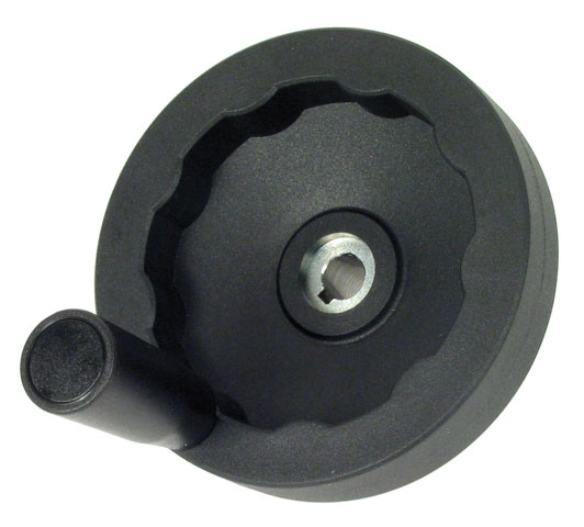 Hand wheel - Polyamide - Solid - Revolving handle