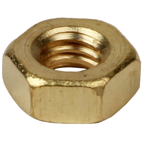 Six-sided nut - DIN 934 - Brass -  -