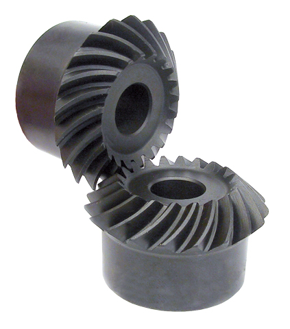 Spiral bevel gear Ratio:1:1 Module:1 00 Material:Steel S45C