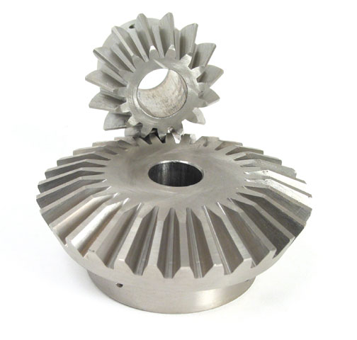 Stainless steel bevel gear - 2:1 - 0.80 - Stainless steel (304L)
