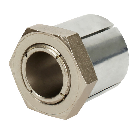 Hexagonal locking assembly - For small diameters - Quick mounting -
