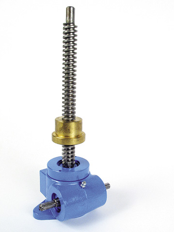 Screwjack - with moving nut - 15,000N - TR24 x 6