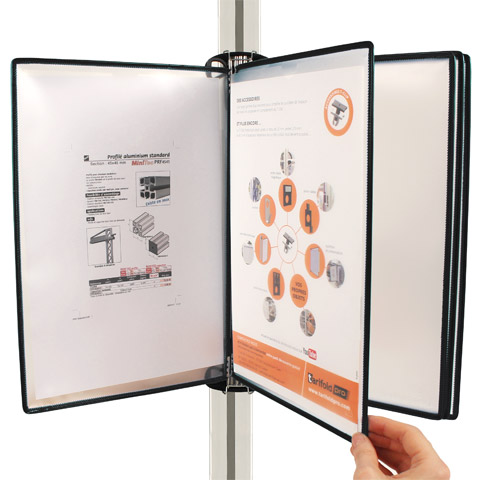 T-Clip - Aluminium profile attachment - Pocket fastening system -  -
