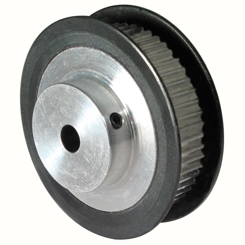 Synchronous pulley - T2.5 aluminium - 6mm -