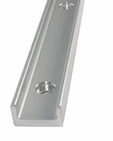 Guida lineare Utilitrack® - Profilo guida a V - Alluminio -