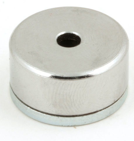 Magnetic stud - With central hole - ALNICO -