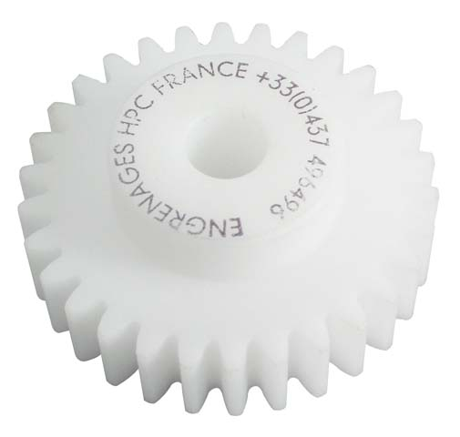 Spur gear - Machined plastic (delrin) - 0.50 -