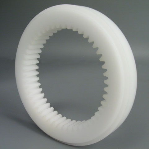 Internal gear - Machined plastic (delrin) - 4.00 - Yes
