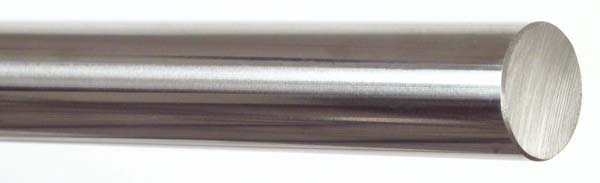 Linear shaft - Hardened ground stainless steel - Round shape -